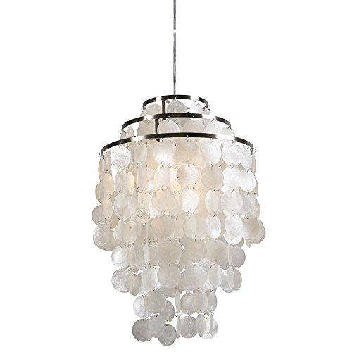 ceiling lamp shell lamp tolero capiz amazon co uk lighting