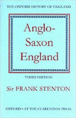 Anglo-Saxon England (Oxford History of England)