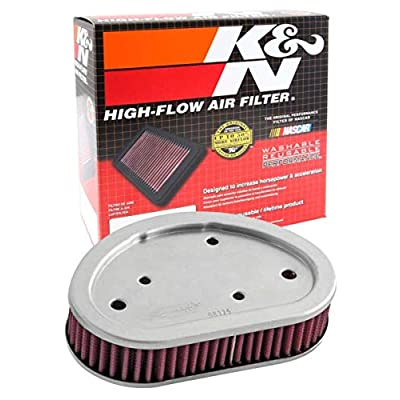 K&N HD-9608 Harley Davidson High Performance Replacement Air Filter: Automotive