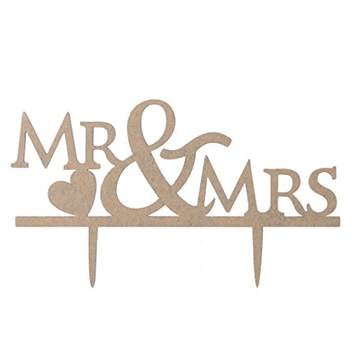 Lays Mr Mrs Bride Groom Bird Love Wedding Cake Toppers Cake Insert Card Acrylic Black  5