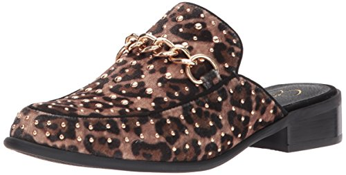 Jessica Simpson Women's Beez Mule, Natural, 7.5 Medium US