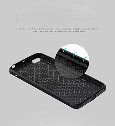 XiaoMi RedMi 3 Funda - Litastore Dibujos Animados Shell a Prueba de Golpes Resistente Protector Suave Silicona Detrás Caso Para Cubierta XiaoMi RedMi 3 - Gris Negro
