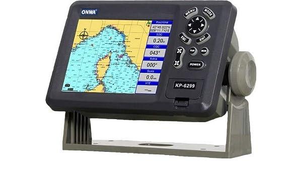 Plotter Cartográfico con GPS ONWA KP-6299B: Amazon.es: Electrónica