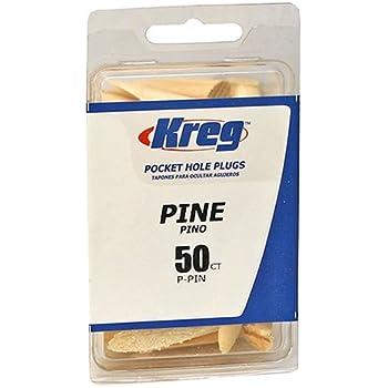 Kreg P-PIN Pine Plugs for Pockets, 50-Pack