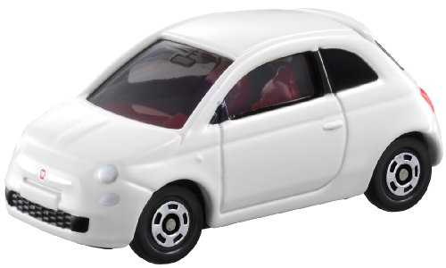 Takara Tomy Tomica No.90 Flat 500 White Color Scale 1 : 59