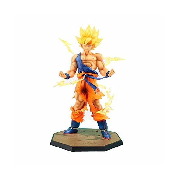Generic Anime Dragon Ball Z Super Saiyan Son Goku Action Figure Toy – 6 Inch Multi Color