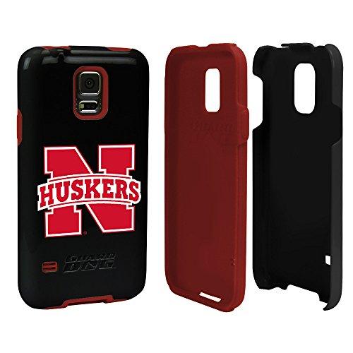 Nebraska Cornhuskers - Hybrid Case for Samsung Galaxy S5 - Black