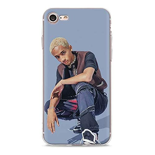 Inspired by jaden smith Phone Case Compatible With Iphone 7 XR 6s Plus 6 X 8 9 Cases XS Max Clear Iphones Cases High Quality TPU Kid Merchandise- 33003732141 Summertime- 1984 Three Say Justin