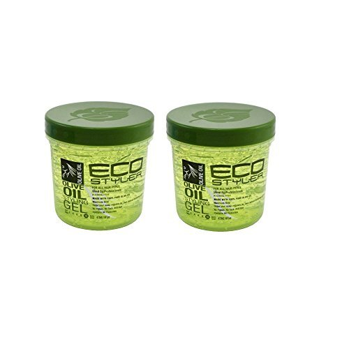 Eco Professional Styling Gel Olive Oil,16 Ounce(pack of ()