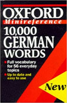 10, 000 German Words (minireference)