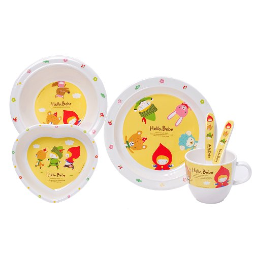Lock&Lock Hello Bebe 5 Piece Baby Feeding Set