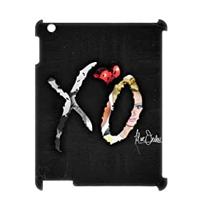 YUAHS(TM) Personalized 3D Hard Back Phone Case for Ipad 2,3,4 with The Weeknd XO YAS148340