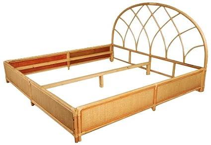 Hansen Rattan 3065/200 ratán-cama doble con bandeja/sin marcos ...