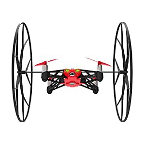 Parrot MiniDrone Rolling Spider - Red (Certified Refurbished)