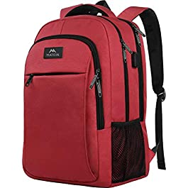 Laptop Backpack for Girls, Womens High School Backpack with USB Port for School Supplies and College Accessories, Water…