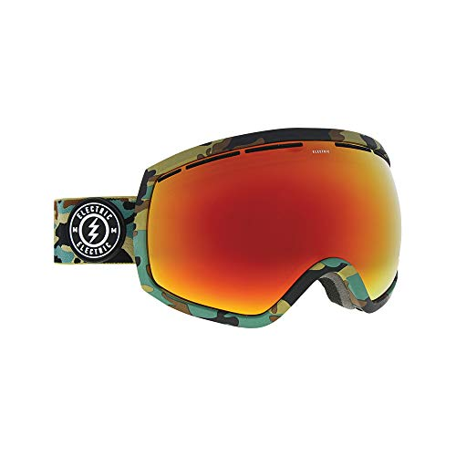 Electric EG2 Ski Goggles, Camo/Brose/Red Chrome