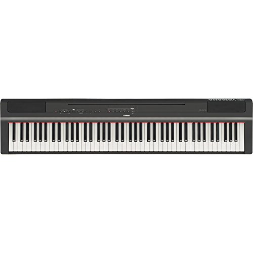 Yamaha P125B 88-Key Weighted Action Digital Piano with Sustain Pedal, Power Supply, Double-Braced X-Style Keyboard Stand, and Padded X-Style Piano Bench by Yamaha Genesis (Image #2)
