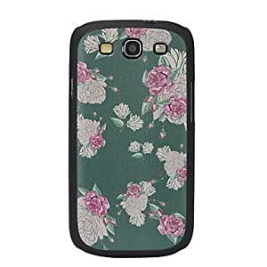 hao Rural Flowers Pattern Hard Case for Samsung Galaxy S3 I9300
