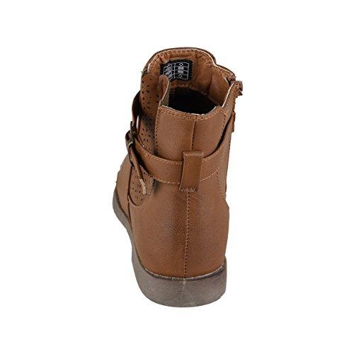 HSM Lisanne Comfort + Mujer Botines marrón marrón