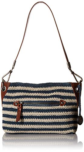 The Sak The Indio Crochet Demi, Vintage eggshell Stripe