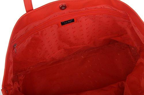 Armani Jeans bolsos con asas largas para compras mujer nuevo beige