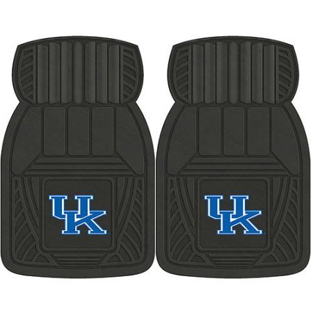 NCAA 4-Piece Front #36572588 and Rear #19888856 Heavy-Duty Vinyl Car Mat Set, University of Kentucky by Sports Licensing Solutions LLC