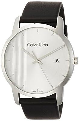 Calvin Klein Men's Analogue Quartz Watch with Leather Strap K2G2G1CX