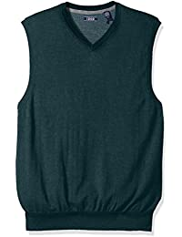 Men's Fine Gauge V-Neck Sweater Vest