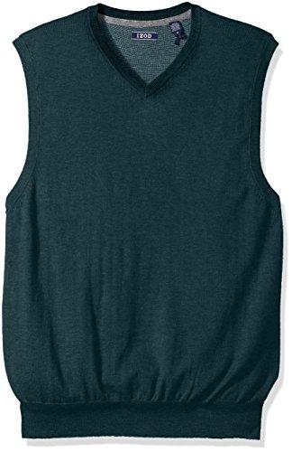 Mock Layer Sweater Vest - 1