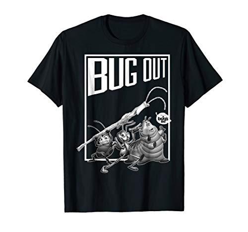 Disney Pixar Bugs Life Group Shot But Out Graphic T-Shirt