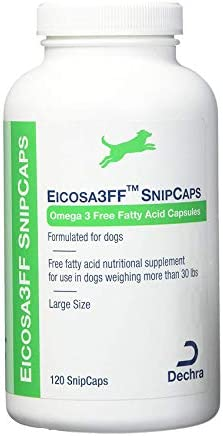 Dechra Eicosa3FF SnipCaps Large , for Dogs Over 30lbs