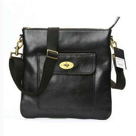 0f63391c3447 Mulberry Bag Seth Messenger Black  Amazon.co.uk  Kitchen   Home