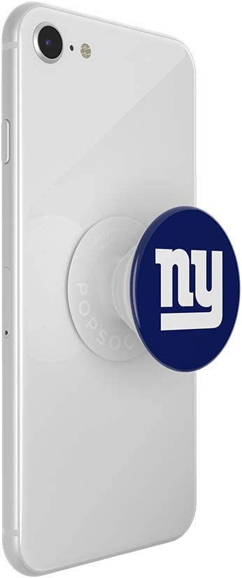NFL New York Giants Helmet PopGrip with Swappable Top for Phones /& Tablets PopSockets
