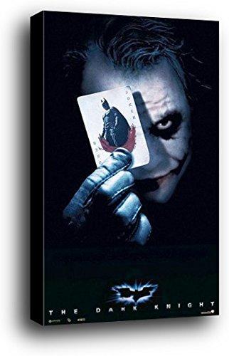 Batman Cartel Montado En Madera - El Caballero Oscuro, Carta ...