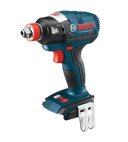 BOSCH IDH182B-RT Bare Tool 18V EC Brushless 1/4-inch and 1/2-inch Two-In-One Bit/Socket Cordless Impact Driver (No Battery or Charger) (Renewed)