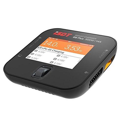 Littleice ISDT Q6 Plus 300W 14A スマートポケットポータブルバッテリー充電器バランスチャージャー LiPo Life LiHv NIMH   B07GTM7MF3