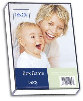 Mcs Box Frame - MCS 16x20 Inch Clear Box Frame (11620)