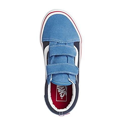 Vans Jungen UY Old Skool V Sneaker Cendre Blue/parisian Night