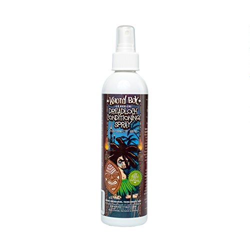 Knotty Boy Dreadlock Conditioning Spray Coco-Knotty 8oz (Best Conditioner For Dreadlocks)