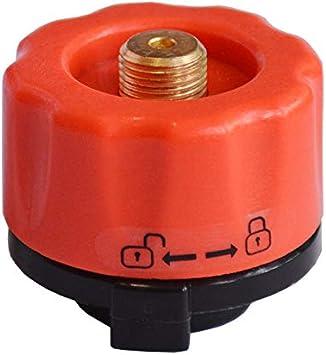 Fire-Maple FMS-701 - Adaptador de bombona de Gas para Cocina de Camping (Zinc y Nailon)