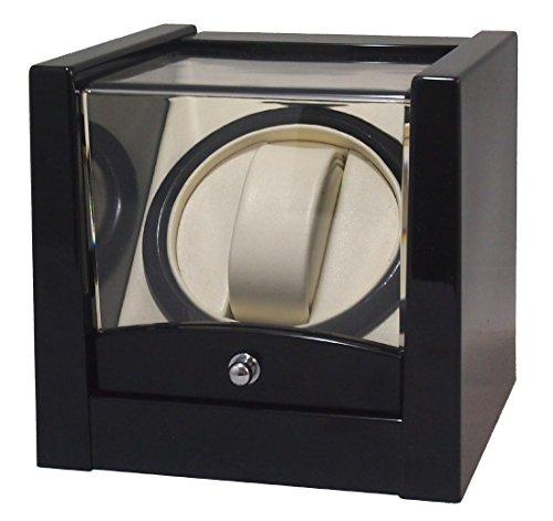 【SKNET】시계권상/시계 와인딩 머신 워치와인더 KA079BK 시계 와인딩 머신 자동 감기의 손목시계에 (블랙)