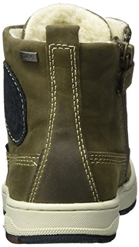 Lurchi Jungen Doug-Tex Combat Boots Beige (Fossil Atlantic 49)