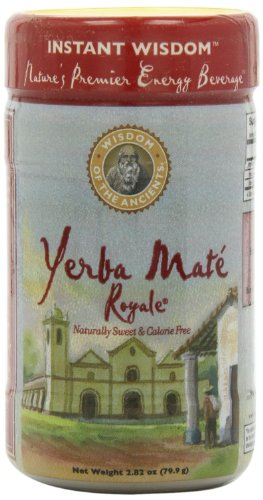Ancients Stevia (Wisdom of the Ancients Yerba Mate Royale Tea, Instant, 2.82 Ounce (Pack of 4))