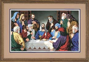 The Last Supper, Paint By Number Kit