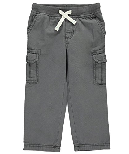 Carter's Boys' Woven Pant 248g289, Grey, 5T - Carters Woven Pant