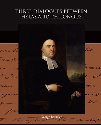 Three Dialogues between Hylas and Philonous pdf epub