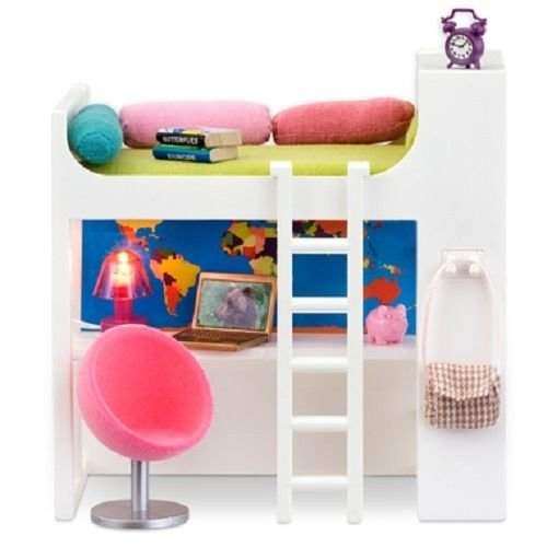 Lundby Smaland Loft Bed Set