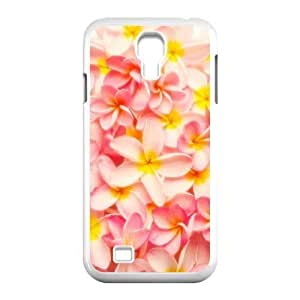 Red Hawaii Flower Classic Personalized Phone Case for SamSung Galaxy S4 I9500,custom cover case ygtg605783