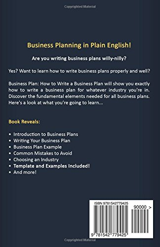 Business Plan How To Write A Business Plan Business Plan Template