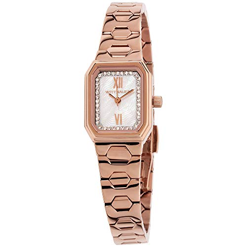 Rose Gold Tone Baguette Case Watch - Wittnauer WN4052